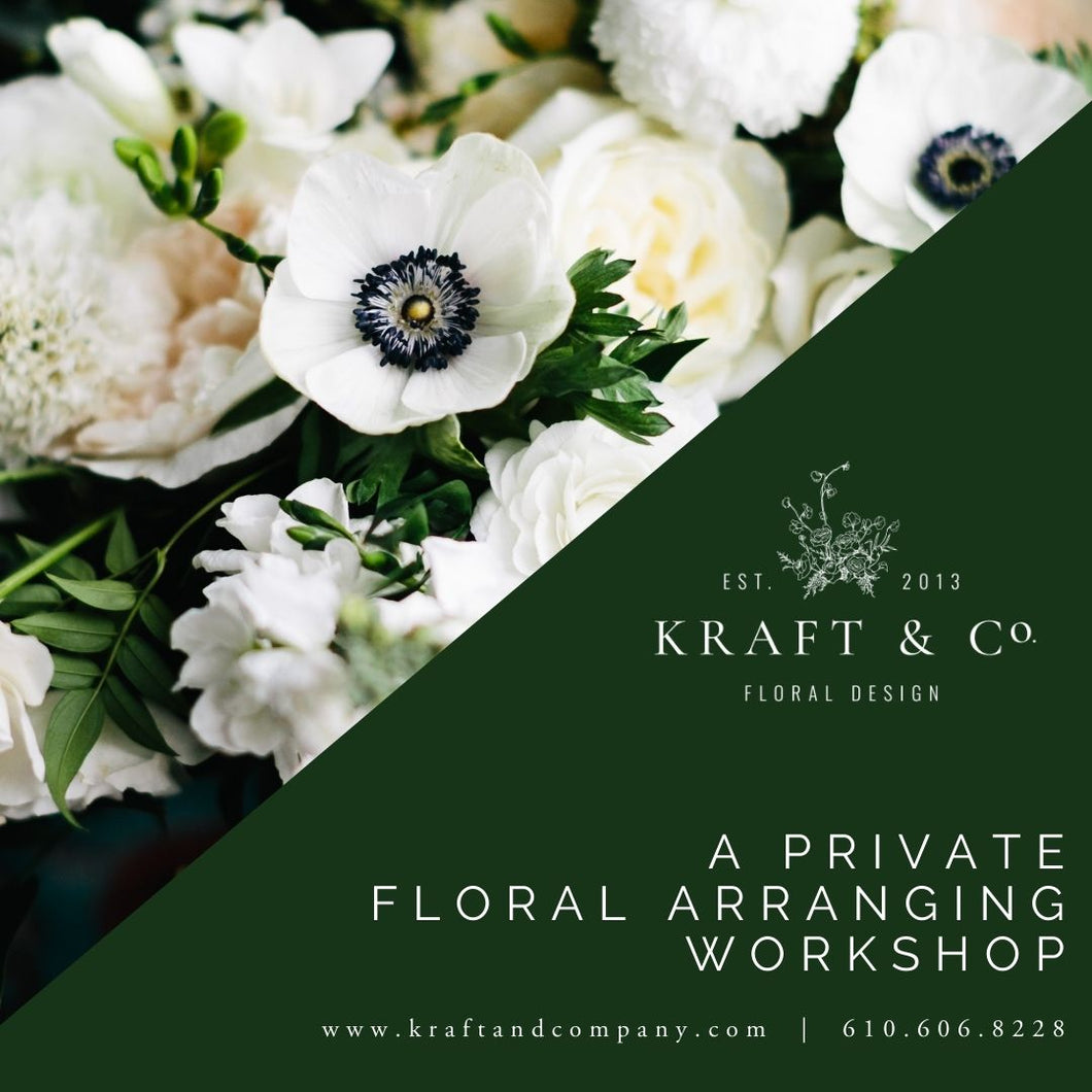 Flower Arranging Workshops
