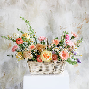 Summer Flower Basket