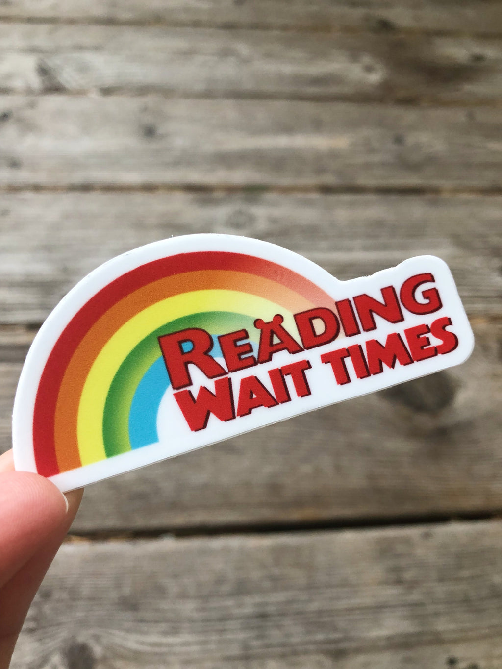 Reading Rainbow Sticker