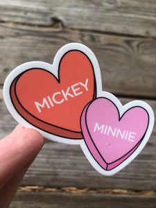 Mickey & Minnie Sticker