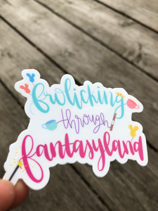 Fantasyland Sticker