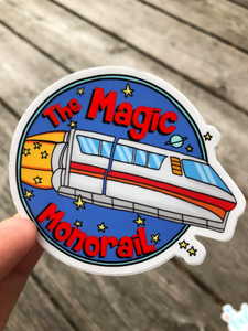 Magic Monorail Sticker