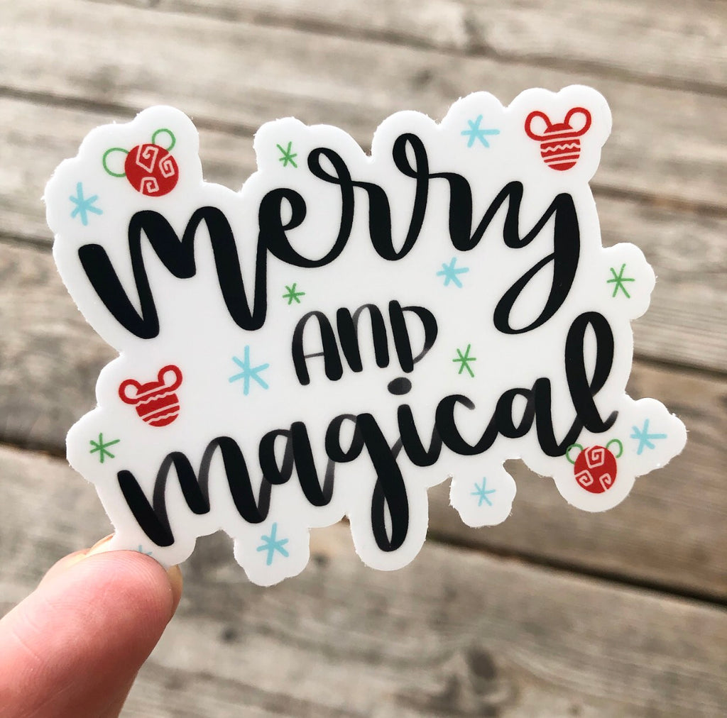 Christmas Disney Sticker