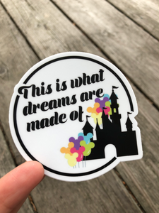 Dreams Sticker