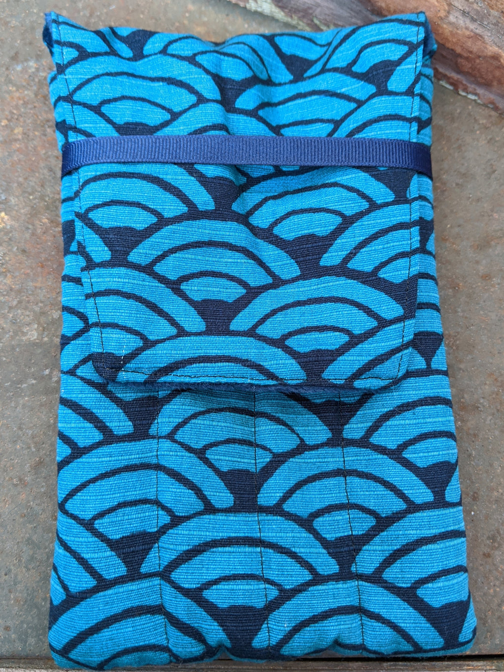 G8mouth Hand-made Eight Pen Case - Teal Shells