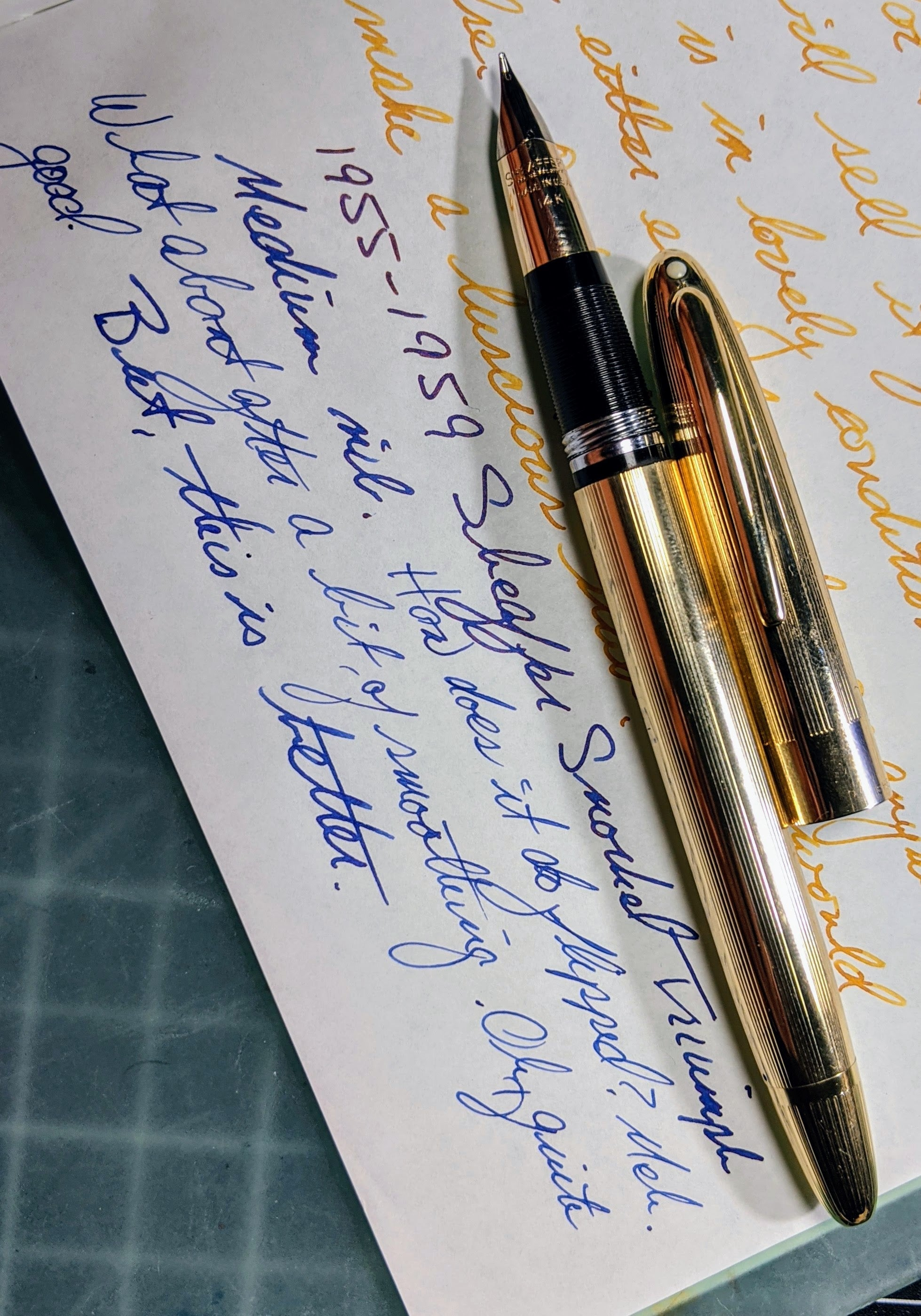 1955-1959 Sheaffer Snorkel Triumph