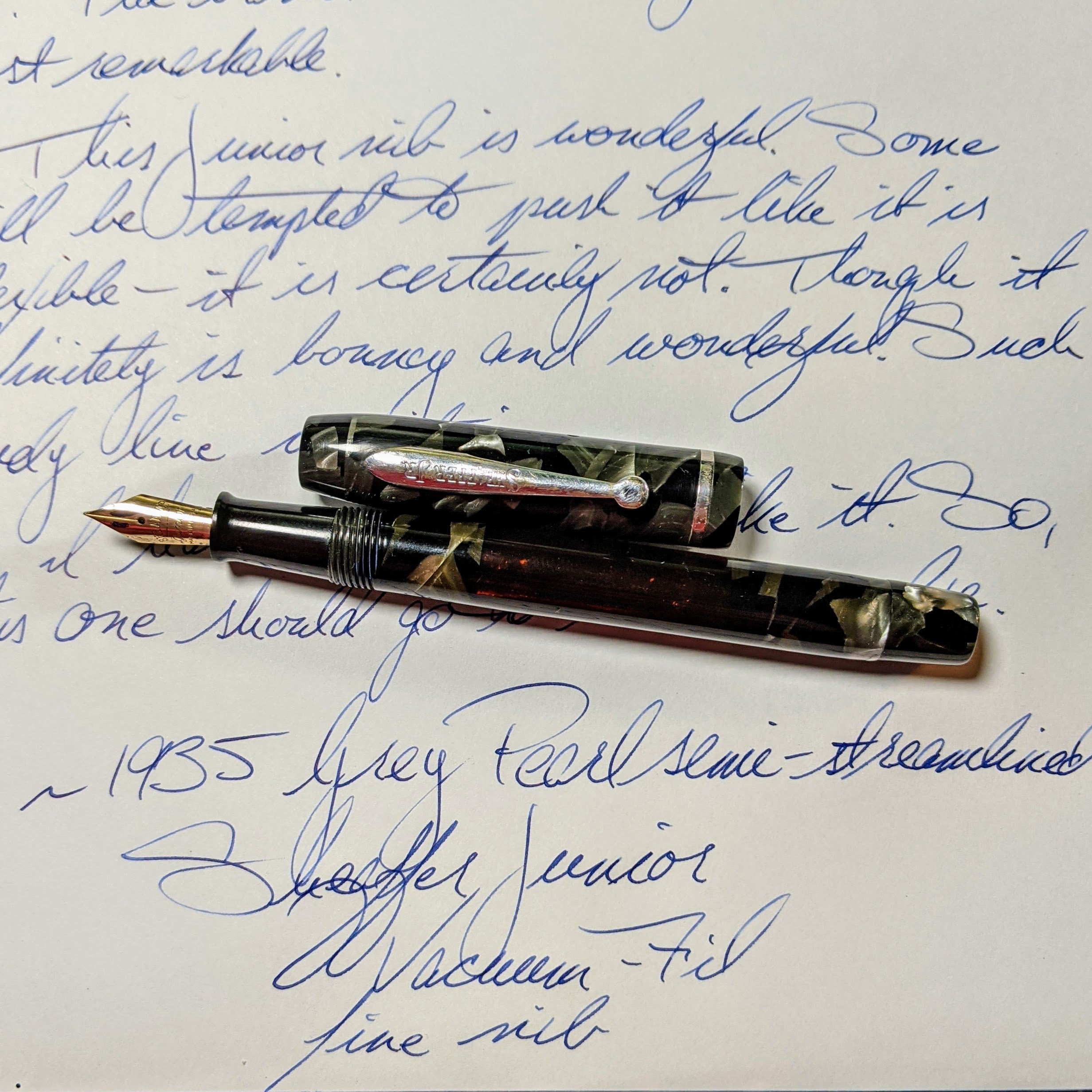 1935 Grey Pearl Sheaffer Junior