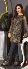 Ladies Stitch Freesia-19 Chiffon Collection by Maryum N Maria FMM-807 Urban Couture