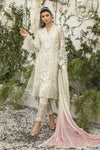 Ladies Un Stitch 3pcs Mbroidered Eid Collection By Maria B White (BD-1905)