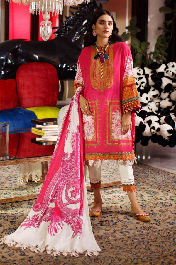 Ladies Un-Stitch Sana Safinaz Mahay Summer Collection 2020 13-A