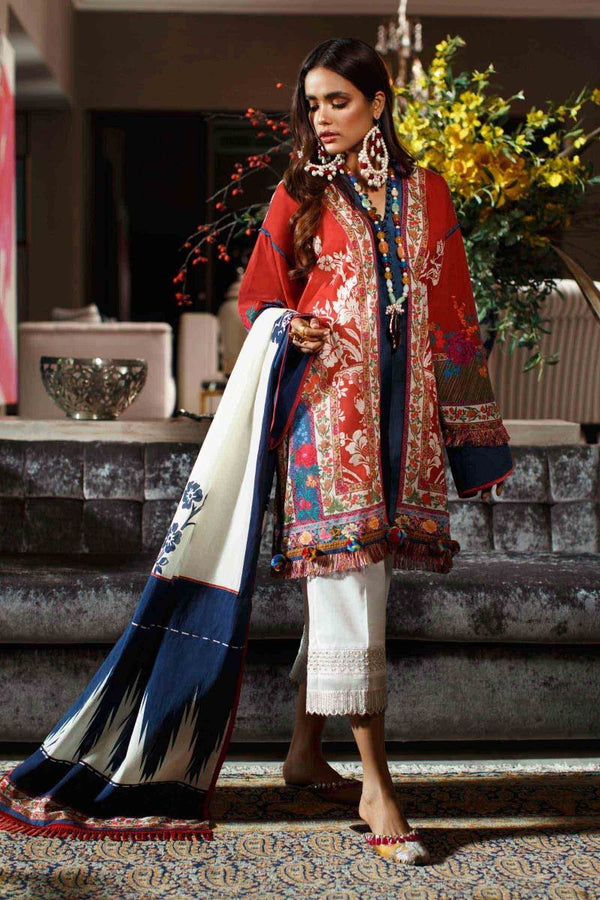 Ladies Un-Stitch Sana Safinaz Mahay Summer Collection 2020 15-A