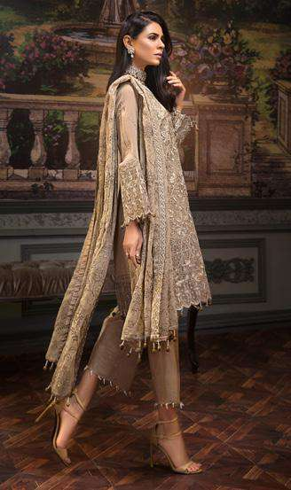 Ladies Un-Stitch Zeenat by Mohagni Luxury Chiffon Collection D-05