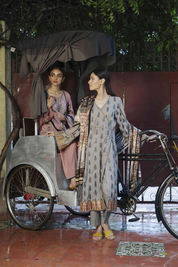 Ladies Un-Stitch QLine Linen Collection QLA-04 By Qalamkar