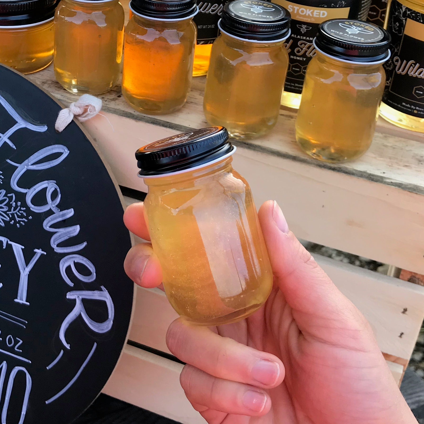 Radical Alaskan Wildflower Honey - 2.2 oz
