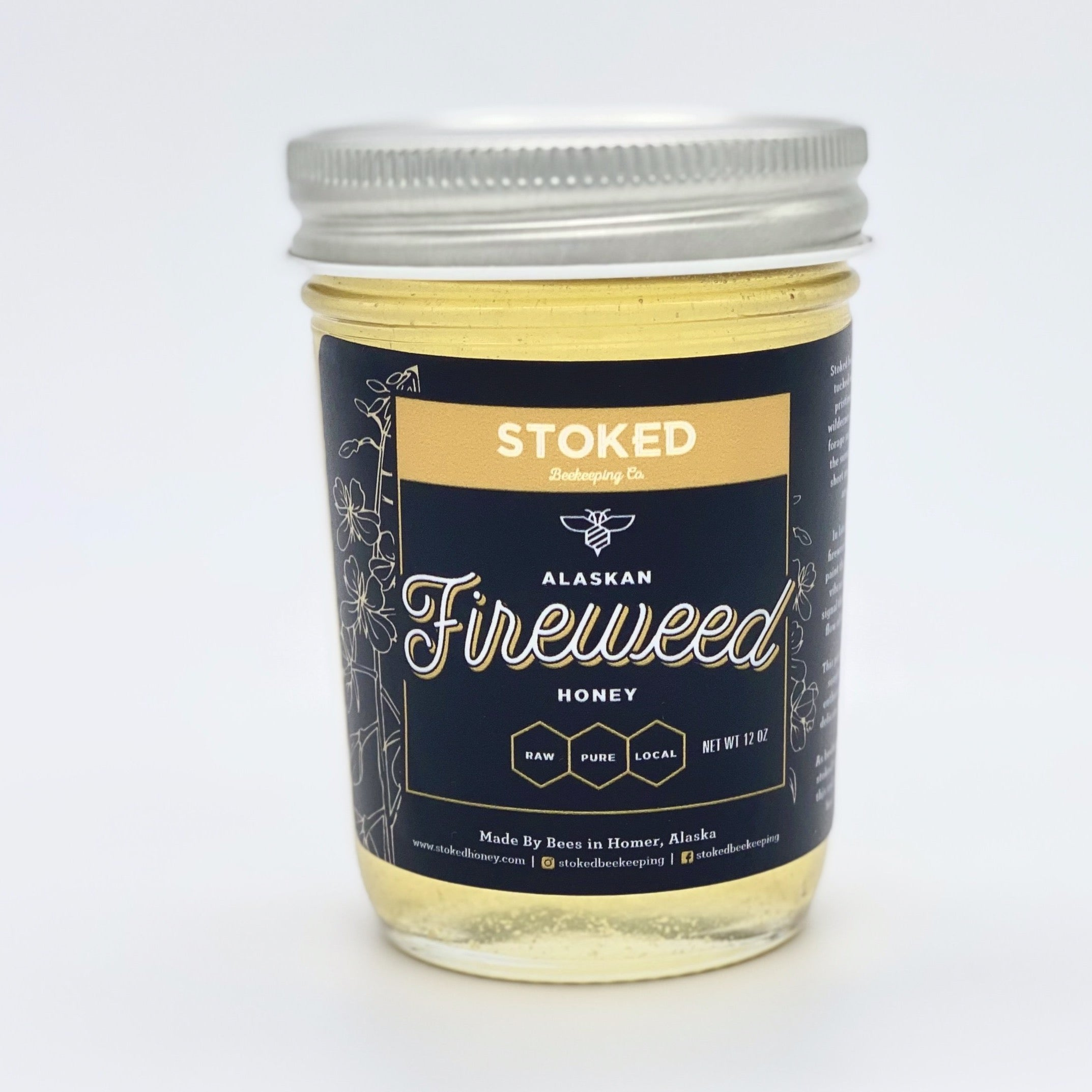 Primo Alaskan Fireweed Honey - 12 oz