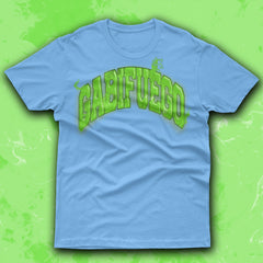 Green Gabifuego Logo Blue T-Shirt