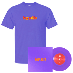 "Boy Pablo - Hey Girl (Limited Edition Purple 7"") + T-Shirt Bundle"