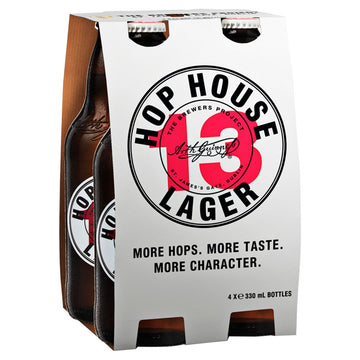 Hop House 13 Lager 4 x 330ml Bottle