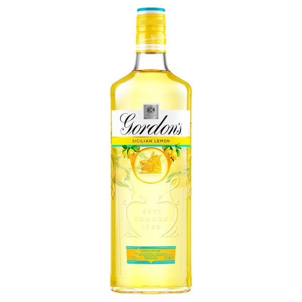 Gordon's Sicilian lemon gin (70cl)