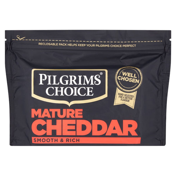 Pilgrims Choice Mature Cheddar 350g