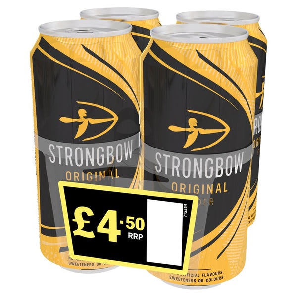 Strongbow Original Cider 440ml £5.50 PMP Cans