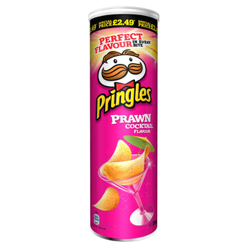 Pringles Prawn Cocktail Crisps (200g)