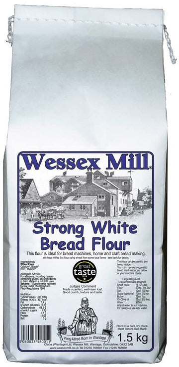 Strong White Bread Flour (1.5Kg)
