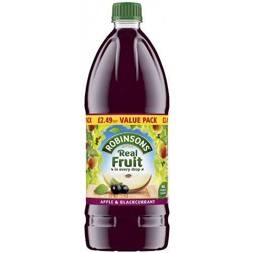 Robinsons Apple & Blackcurrant Squash 2L