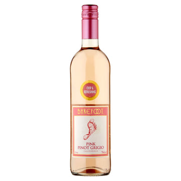Barefoot Pink Pinot Grigio (75cl)
