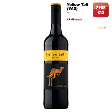 Yellow Tail Shiraz (75cl)