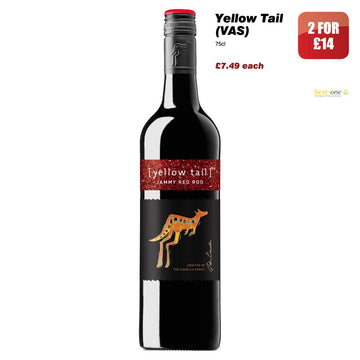 Yellow Tail Jimmy Red Roo (75cl)