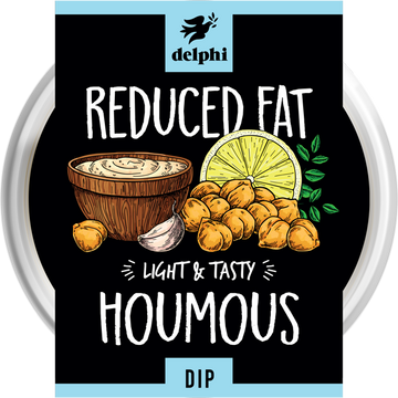 Delphi Reduced Fat Houmous (170g)