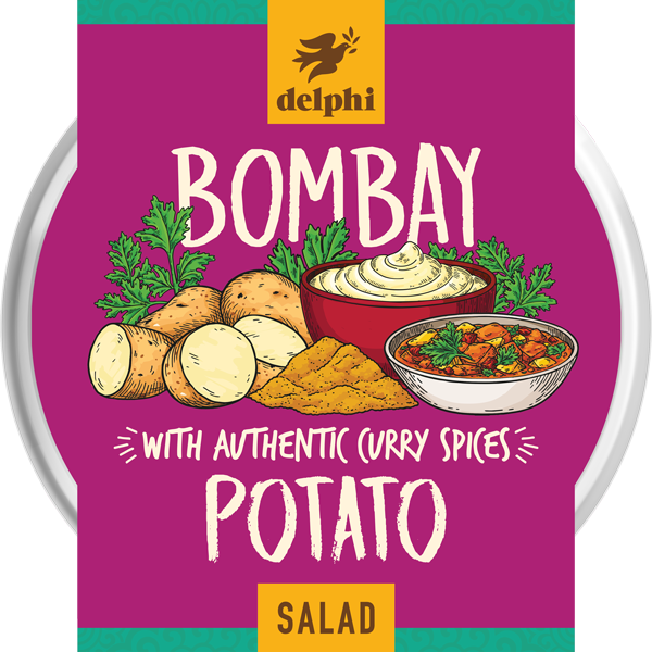 Delphi Bombay Potato Salad (220g)