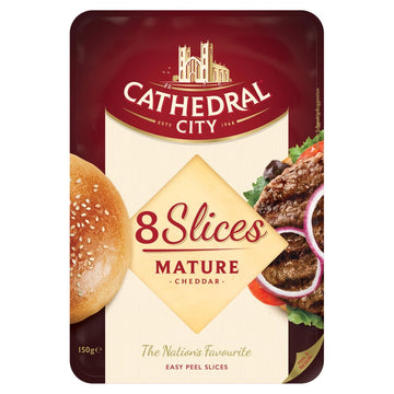 Cathedral City Sliced Cheese (8 slices)