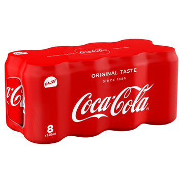 Coke Original (8x 330ml )