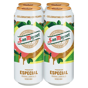 San Miguel 4 pack (500ml)