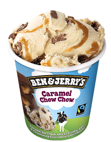 Ben & Jerry's Caramel Chew Chew (465ml)