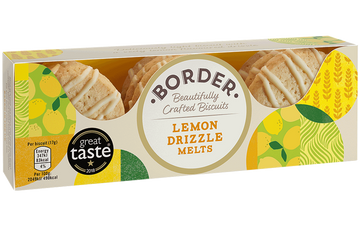 Border Lemon Drizzle Melts (150g)