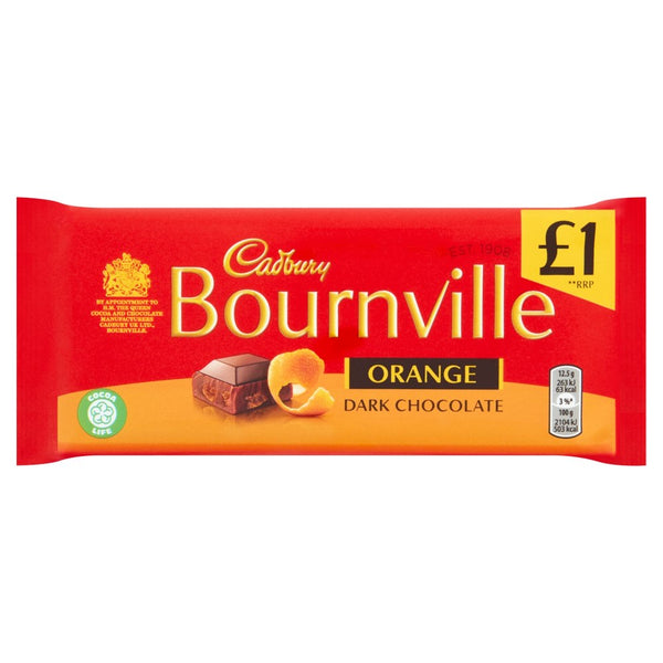 Bournville Dark Chocolate Orange  £1 (100g)