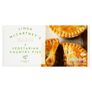 Linda McCartney's 2 vegetarian country pies