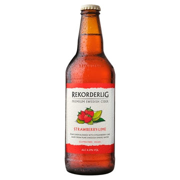 Rekorderlig Strawberry and lime (500ml)