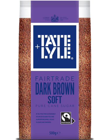 Tate & Lyle Soft Dark Brown Sugar 500g