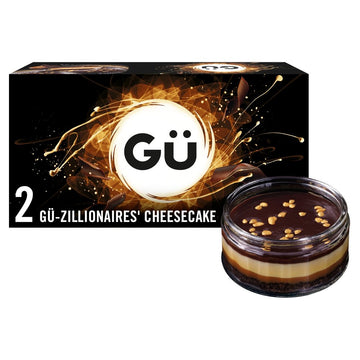 Gü Zillionaires' Chocolate & Salted Caramel Cheesecake
