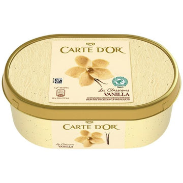 Carte D'Or Vanilla Ice Cream (1000ml)
