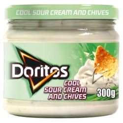 Doritos Hot Cool Sour Cream & Chives