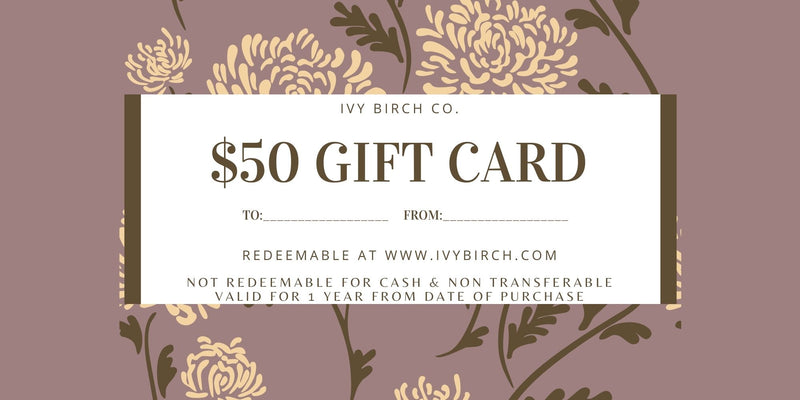 Gift Card-IVY BIRCH CO.