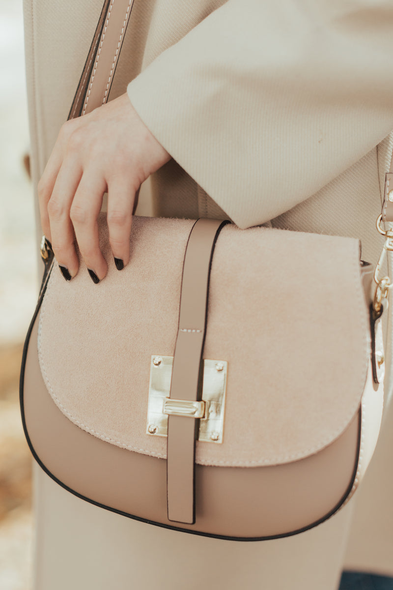 Grace Italian Leather Crossbody
