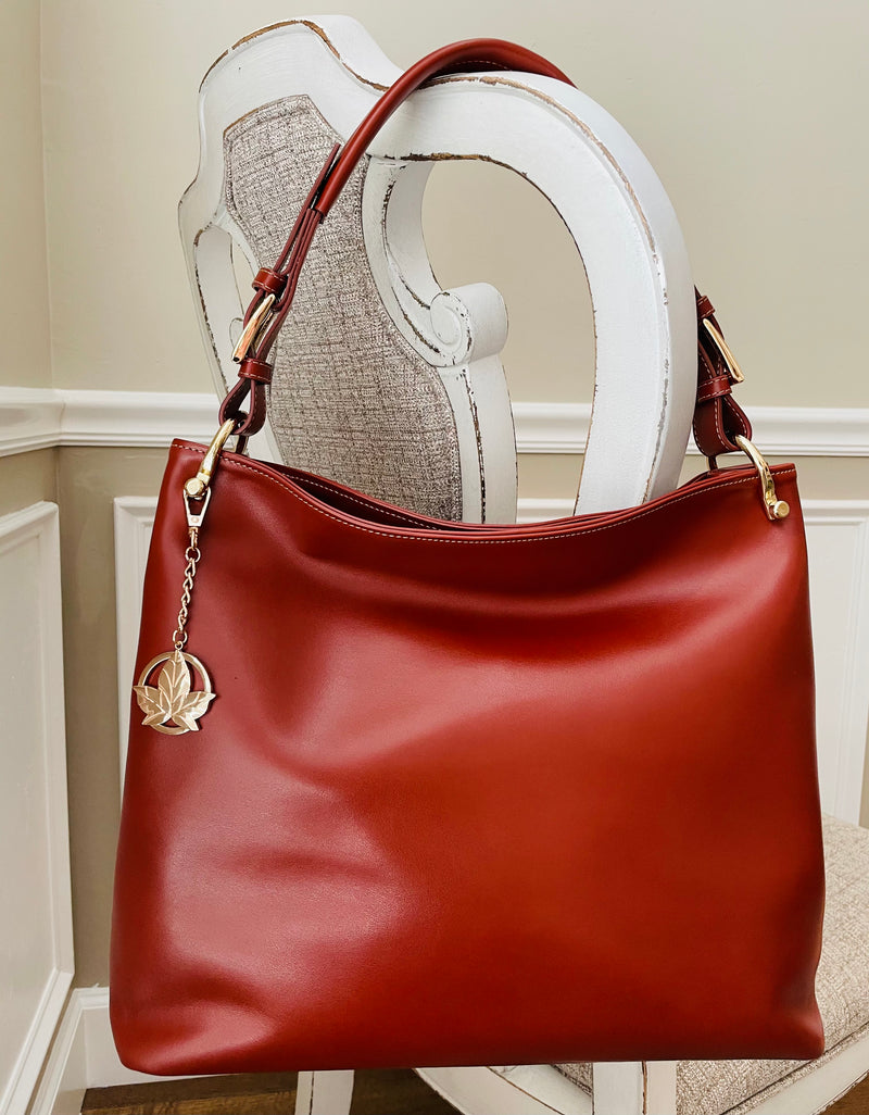 Britt Italian Smooth Leather Hobo