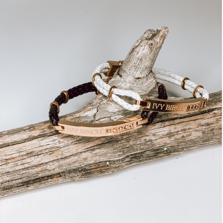 Ivy Birch Genuine Leather Bracelet