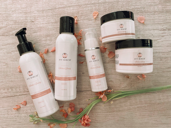 Ivy Birch Timeless Beauty Skincare Collection